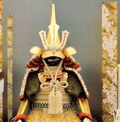 前田利家 5月人形 鎧飾り 甲冑